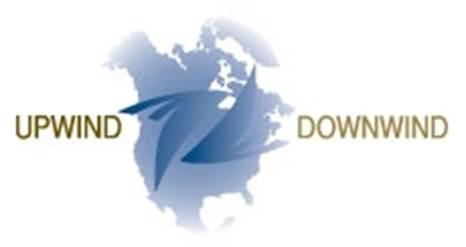 upwind downwind logo